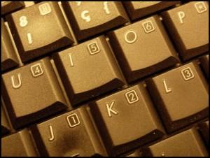 keypad, golden
