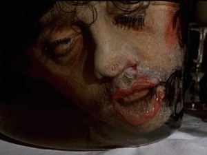 Silence of the lambs severed head